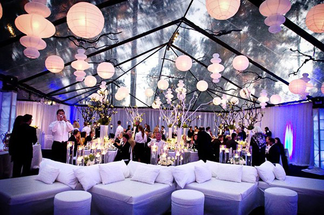 lounge wedding reception