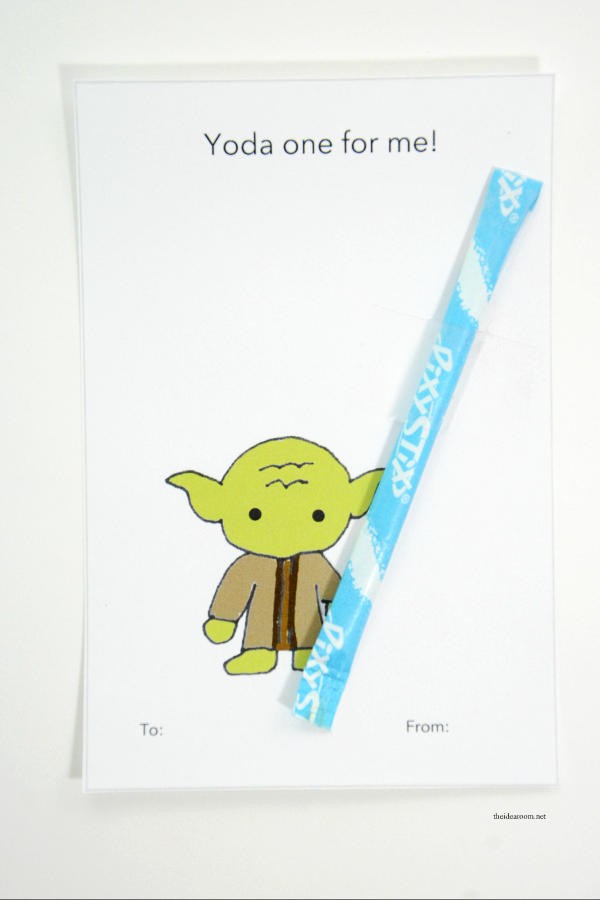 star wars yoda punny card
