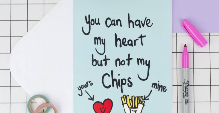 you can have my heart but not my chips