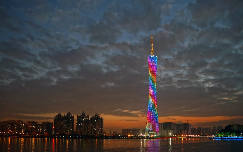 canton tower, guangzhou - panoramio