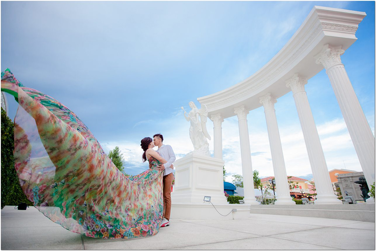 creative couple prewedding photography