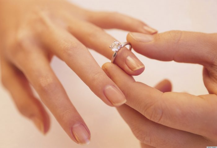 Putting Ring on Finger