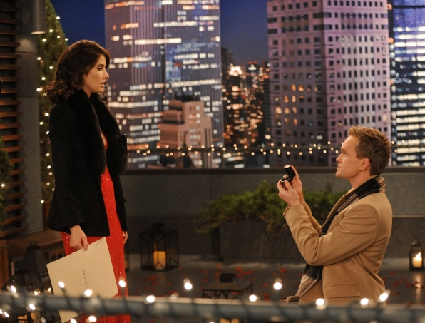 barney proposes to robin