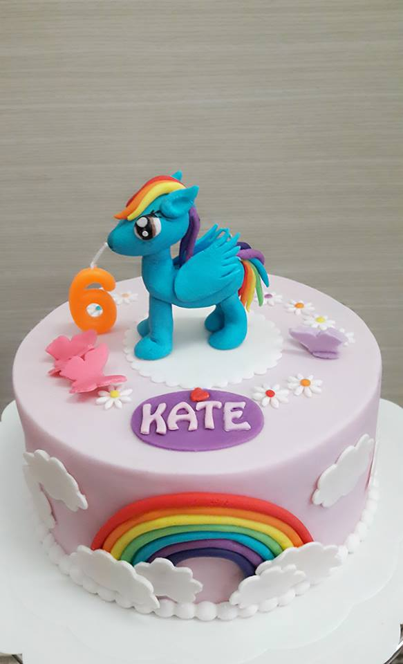 creative my little pony birthday cake for kids