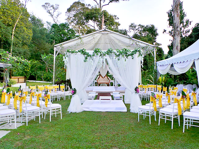 sangkot garden wedding