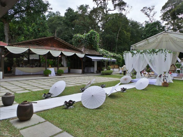 Sangkot Place Hulu Langat Forest Wedding