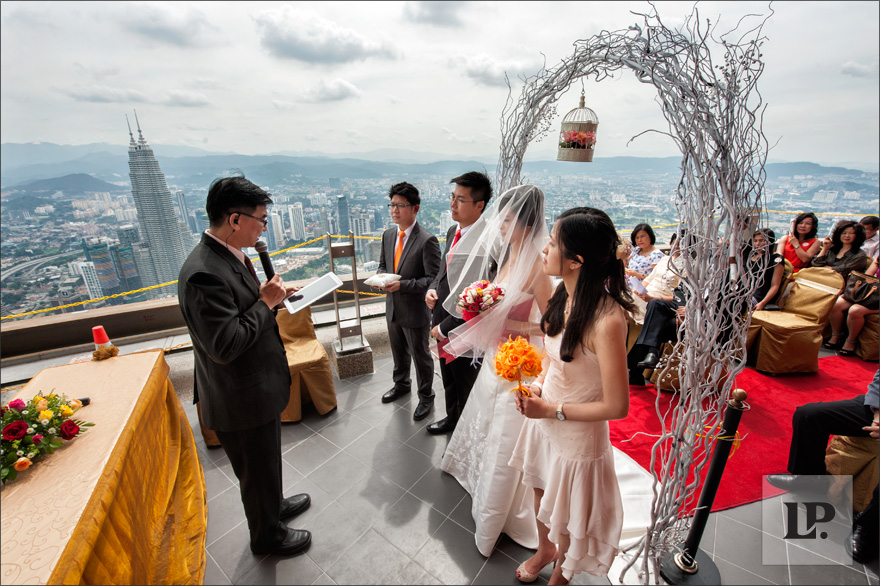 kl tower wedding
