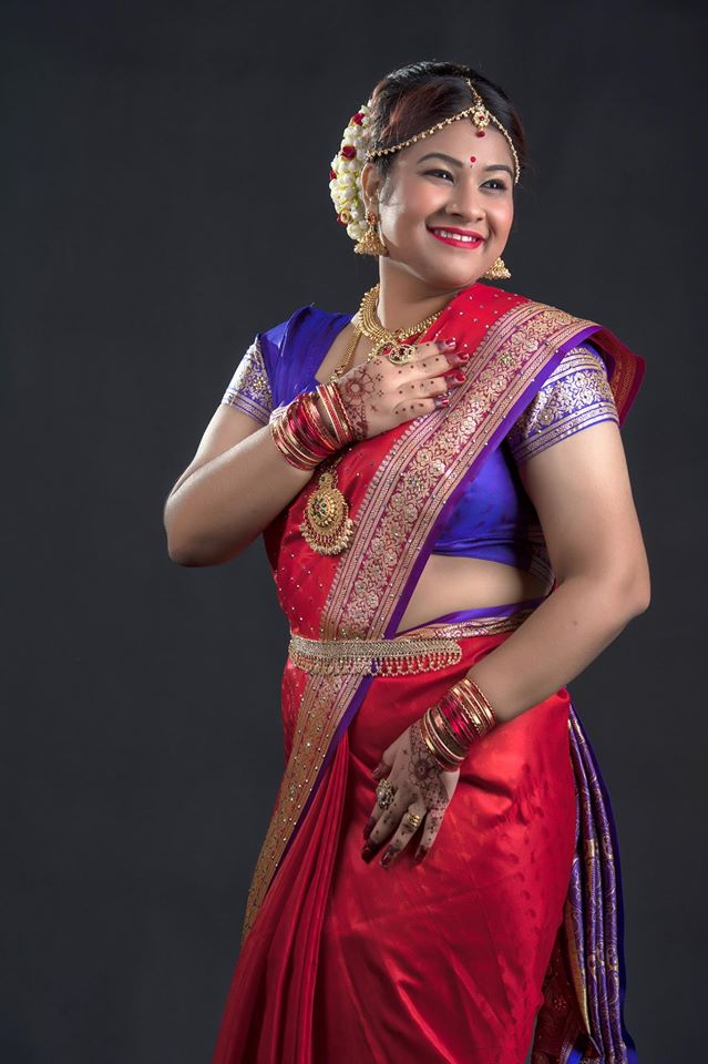 Indian bridal makeup in Malaysia