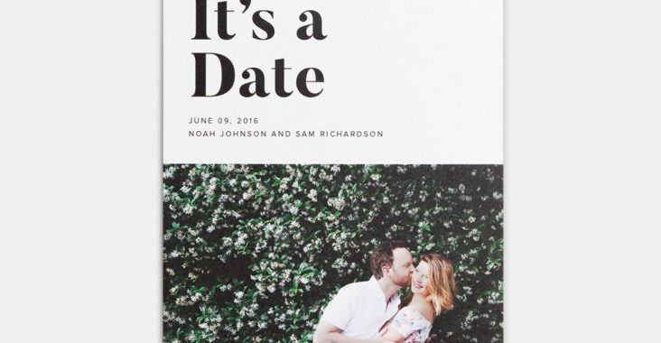 photo book wedding invitation
