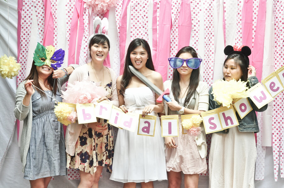 activities to do at bridal shower photobooth fun