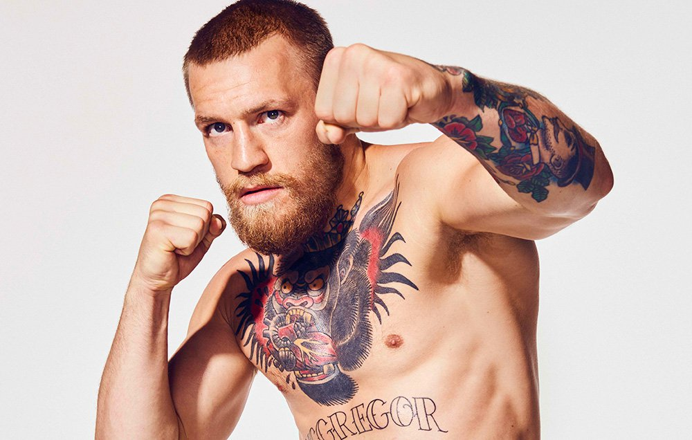 connor mcgregor photoshoot