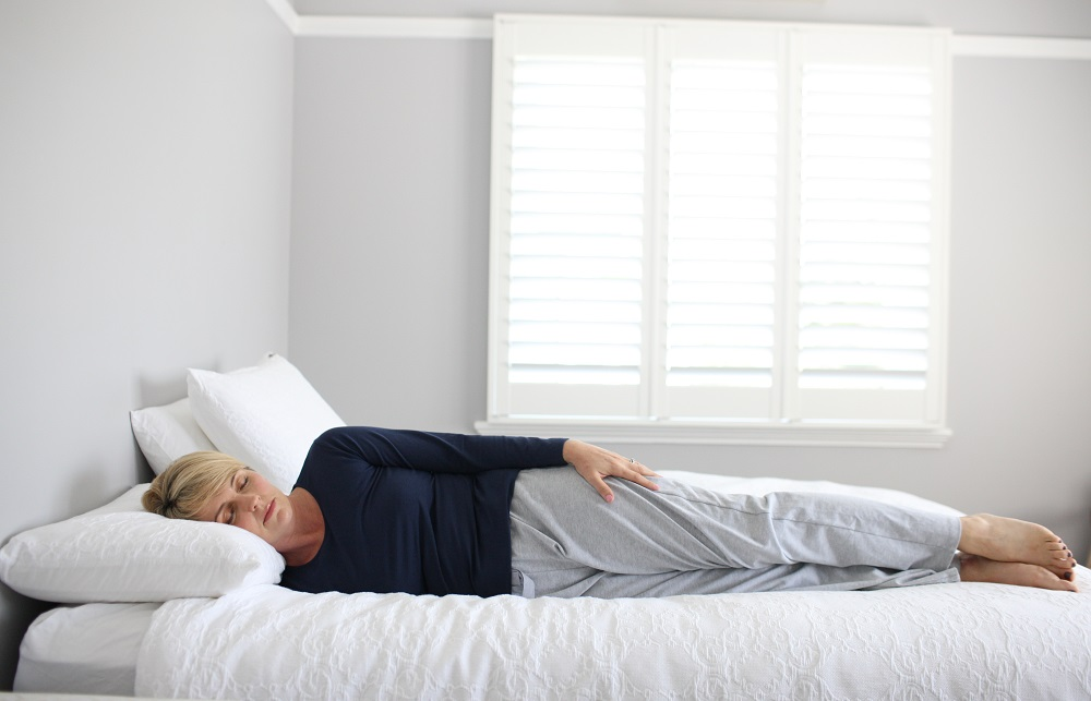Image result for log sleeping position