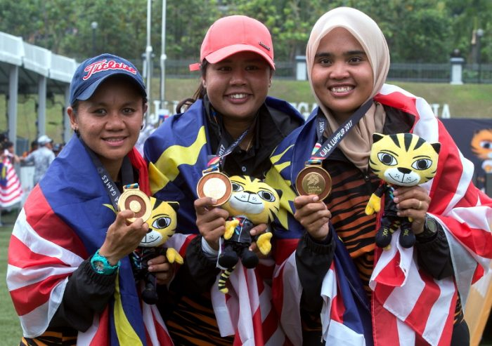 women team archery