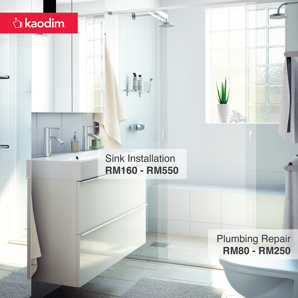 bathroom renovation cost in klang valley