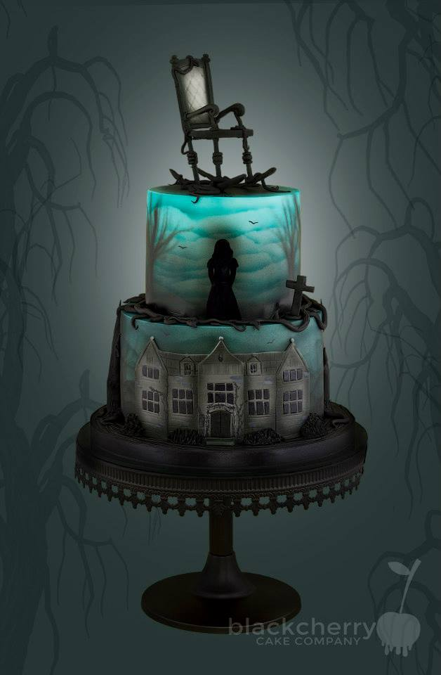 the woman in black cake