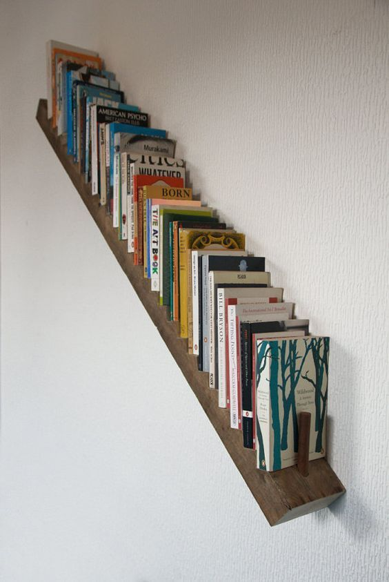 slanted shelf