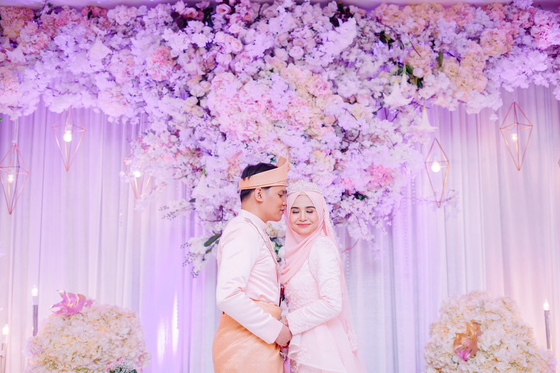 beautiful malay wedding photography