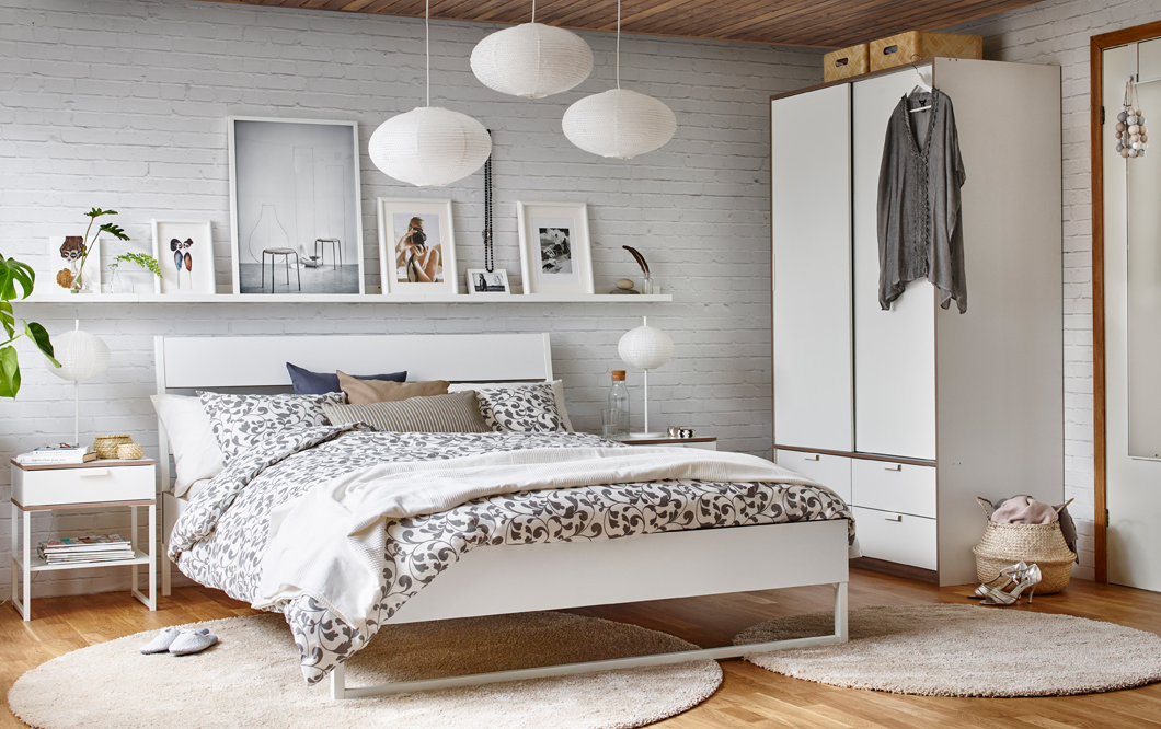 cool scandinavian bedroom design ikea