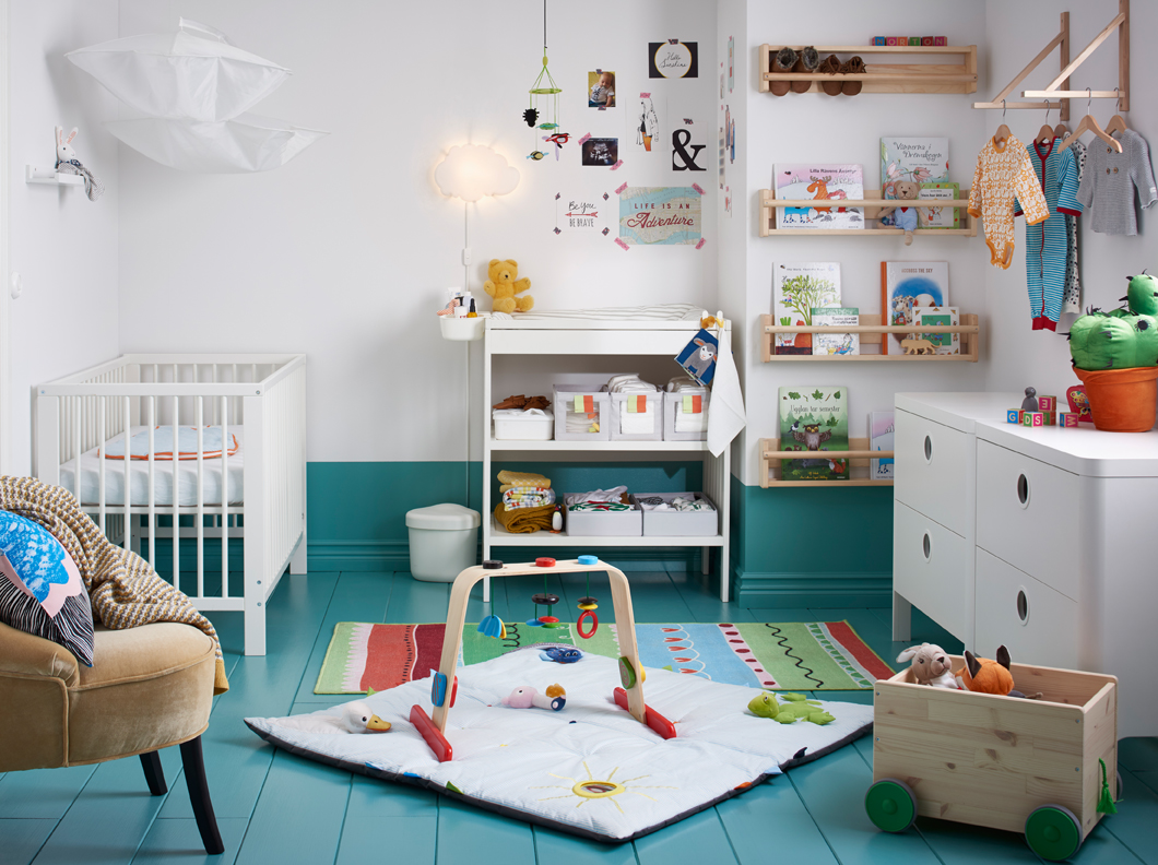 children's nursery room ikea