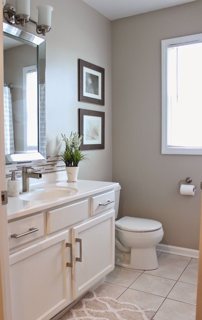 neutral colour bathroom