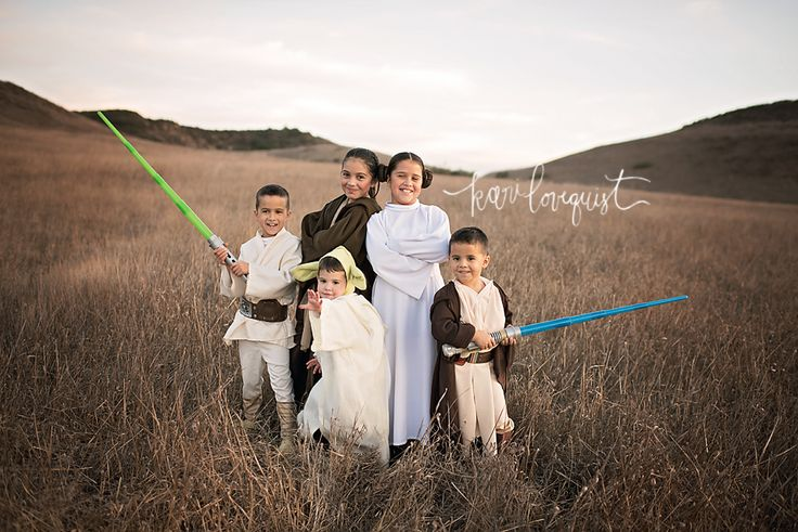 star wars family photoshoot
