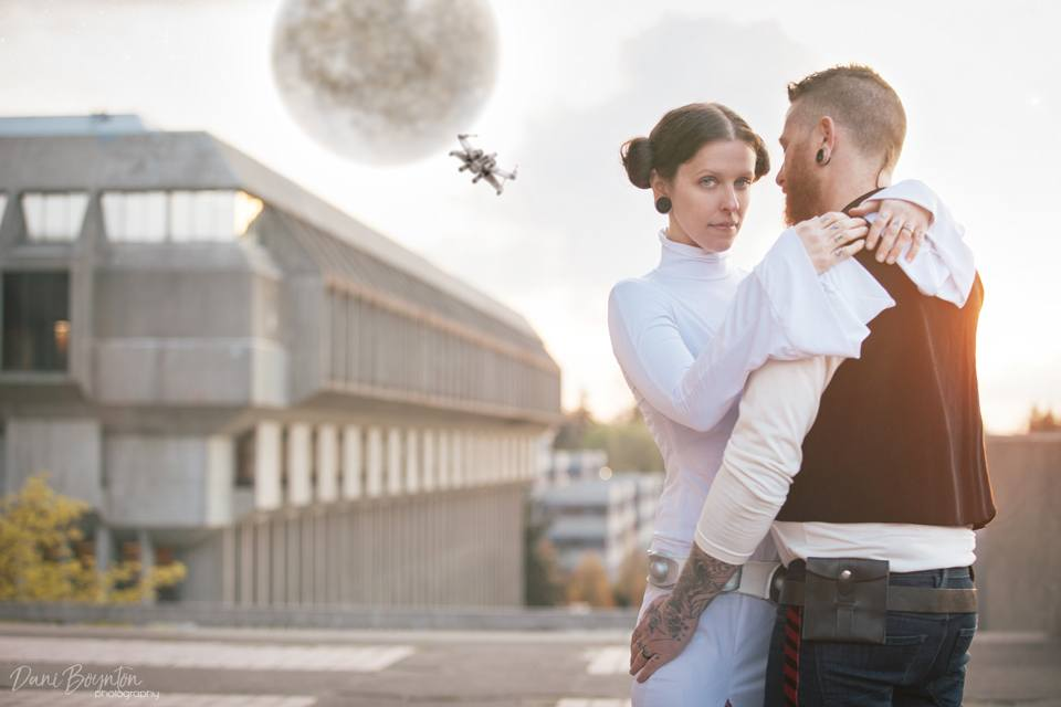 starwars themed photoshoot prewedding