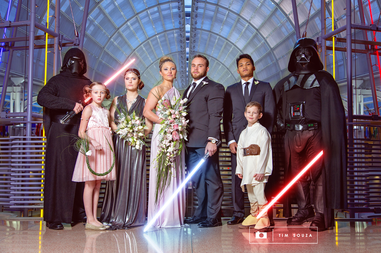 Star wars wedding photozgraphy