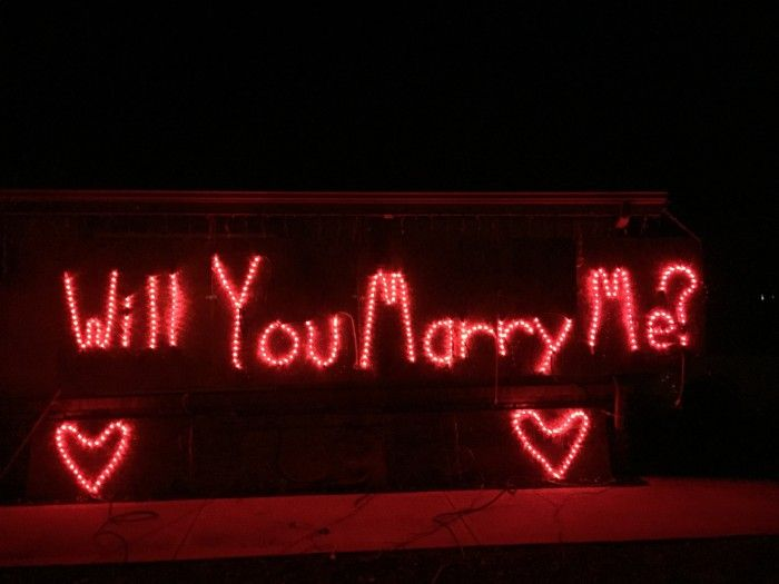Marriage Proposal Christmas Holiday