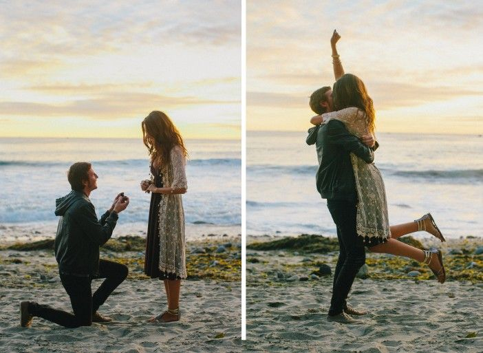 Marriage Proposal Beach