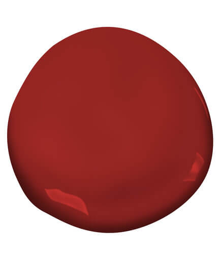 Heritage Red paint colour
