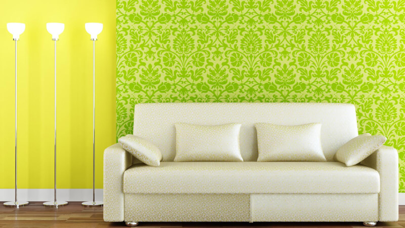 Freshen with wallpaper