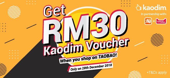 173e3d3b3 RM 30 OFF Your Next Service When You Shop on Taobao! - Kaodim