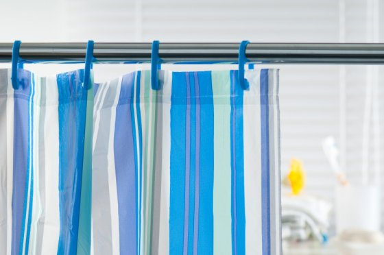 Clean Shower Curtain