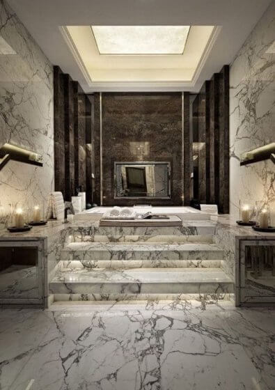 Achieve the luxury look with natural stone flooring