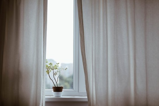 Close curtains and blinds