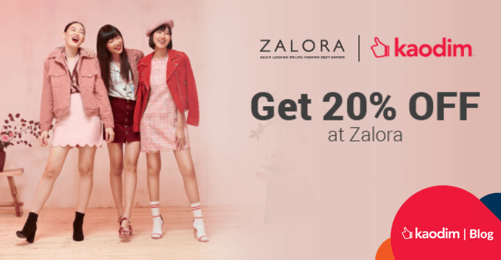 Shop Till You Drop! Enjoy 20% Discount at Zalora