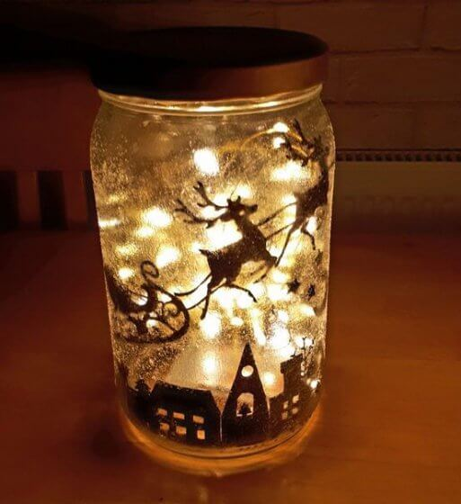 Fairy lights holder