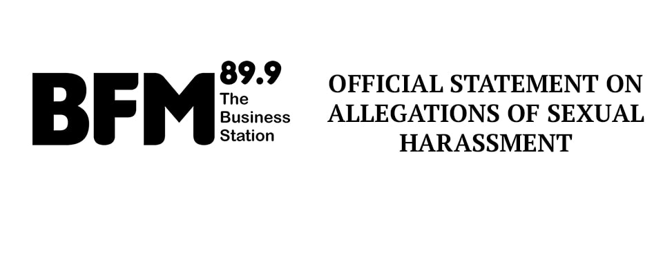 Statement On Allegations Of Sexual Harrassment