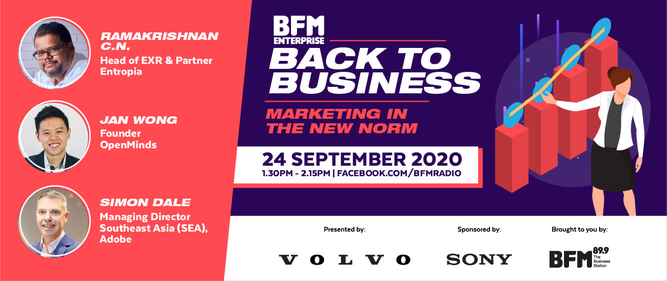 Back to Business 2020: Marketing in the New Norm