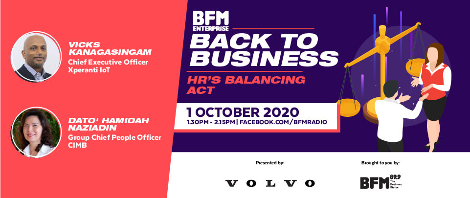 Back to Business 2020: HR's Balancing Act.