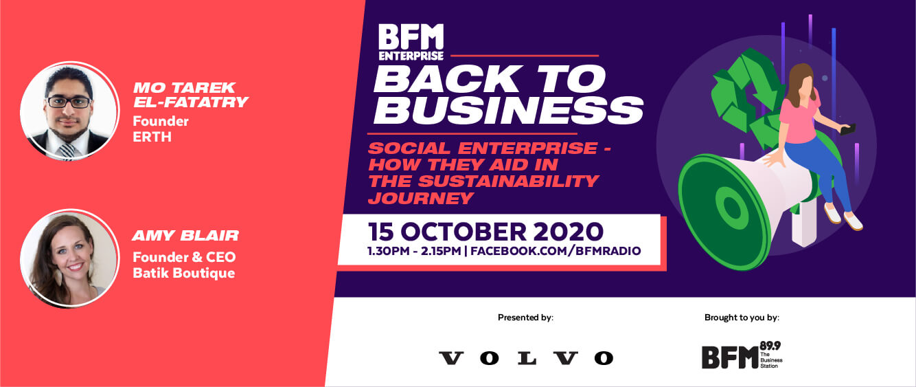 Back to Business 2020: Social Enterprise - How they aid in the sustainability journey