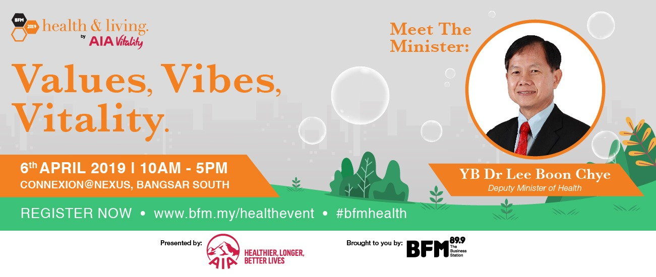 BFM Health and Living Live 2019