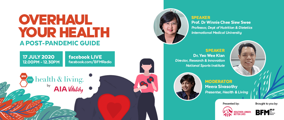 Health and Living 2020: Overhaul Your Health