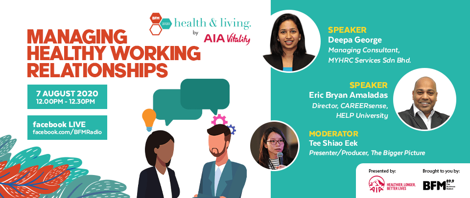 Health and Living 2020: Managing Healthy Working Relationships