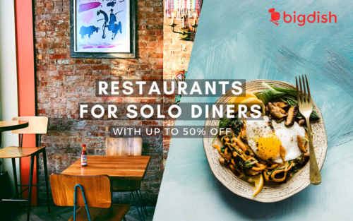 Restaurants for Solo Diners