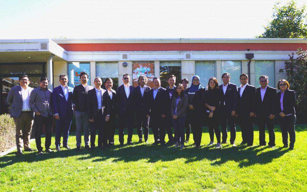 邓章钦率雪州商务团 考察美国矽谷新创企业