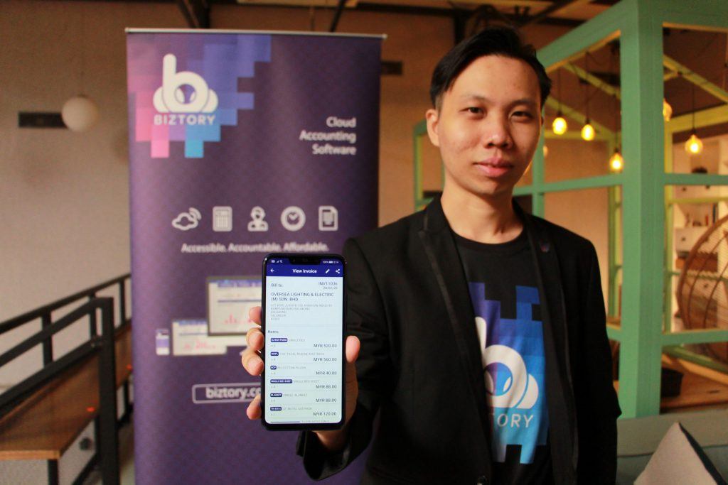 Bryan Soong, Mobile Application, Cloud Accounting, Biztory