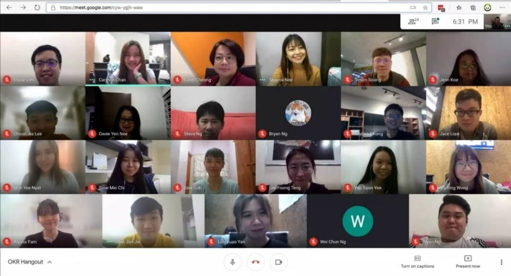 Google Meeting is the best choice for Work From Home Situation