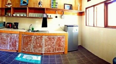 Dapur sederhana yang bikin kita gembira akan membuat makanan bagi kluarg