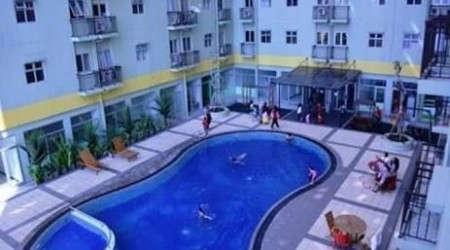 Apartemen yang mempunyai Kolam renang